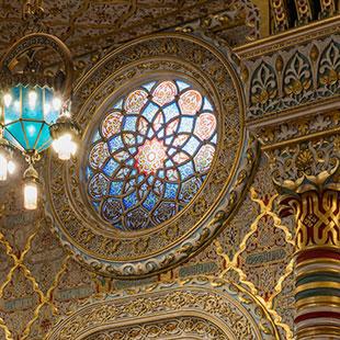 Salão Árabe - Palácio da Bolsa  - fotografia 360º e panorâmica - visita virtual