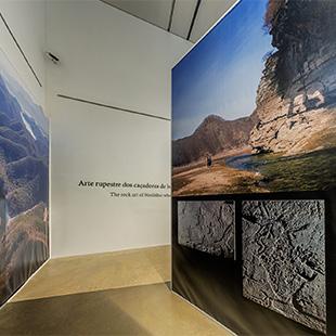 Sala 4 Design | Bangudae no Museu do Côa - fotografia 360º e panorâmica - visita virtual